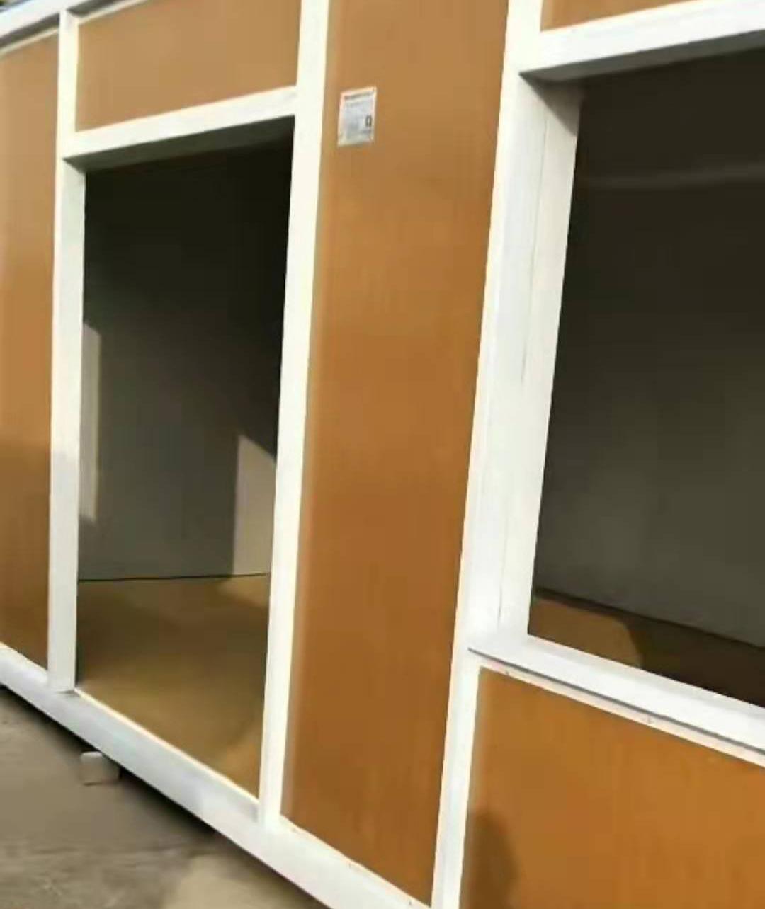 高檔木紋集裝箱